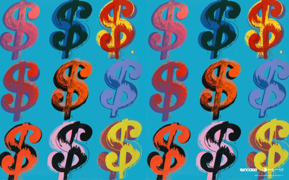 "Warhol ""Dollar Sign"" 1982. Image: Courtesy of andywarhol.net"