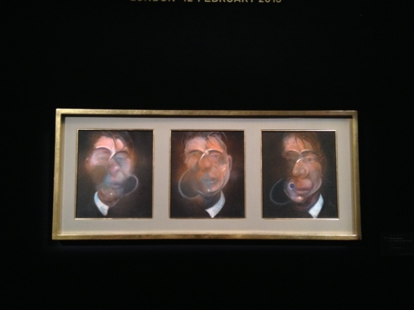 "Francis Bacon, ""Self-Portrait"" Triptych, 1980."