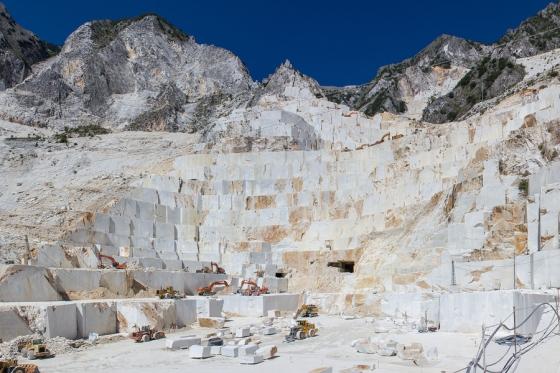 Carrara mountains